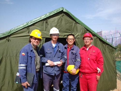 壳牌钻井泥浆废水处理及生态修复