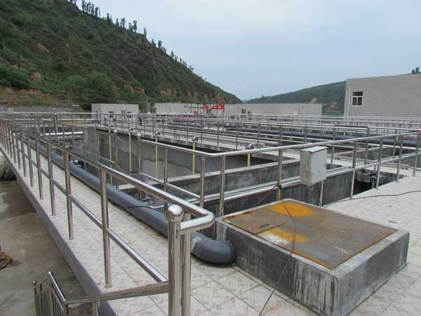清涧县城市污水处理厂建设工程