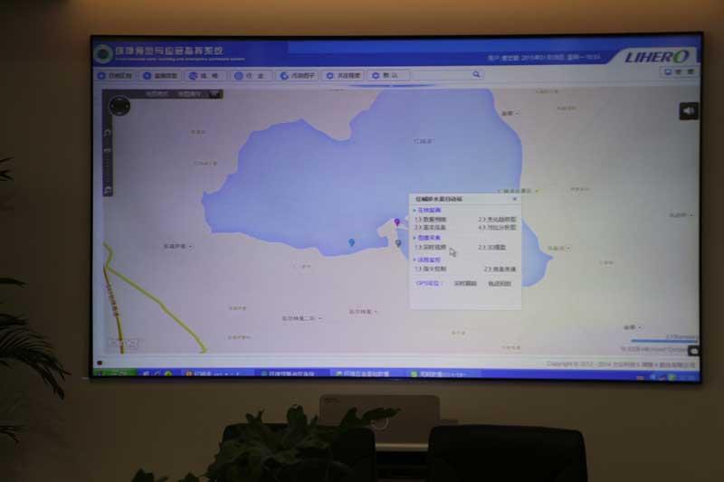 """市亚博网赞助欧冠局领导来我公司指导验收""""红碱淖生态环境保护数据处理传输及水质应急监管能力建设项目"""""""