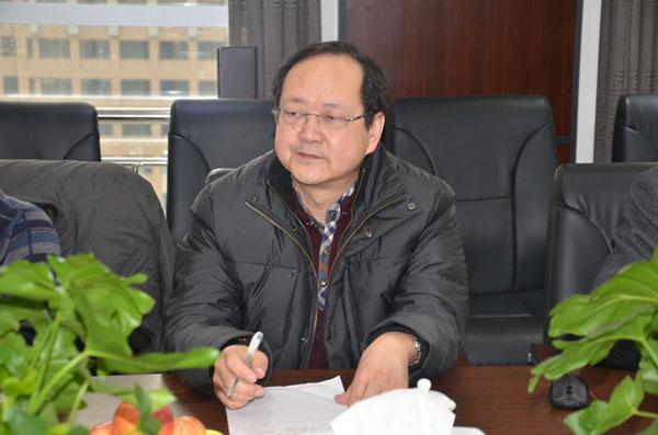 陕西兰环环境工程集团董事长李天举来我公司商谈合作事宜
